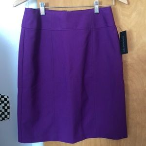 NWT Purple Worthington Pencil Skirt size 8
